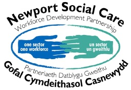 Newport Social Care Workforce Development Partnership logo
