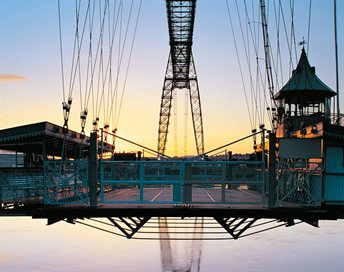 Transporter Bridge Visit