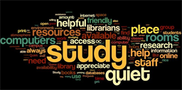 Library wordle created by oer_amy https://commons.wikimedia.org/wiki/File:Library_Wordle.JPG