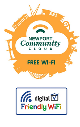 Community Cloud and Friendly Wifi Logo