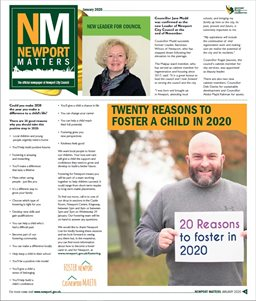 Newport Matters front page Jan 2020