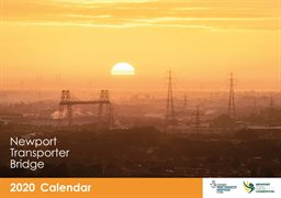 Transporter Bridge Calendar 2020 cover