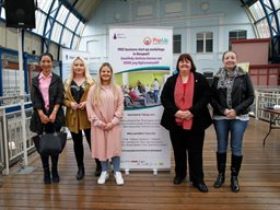Budding entrepreneurs bag space in Newport Market competition
