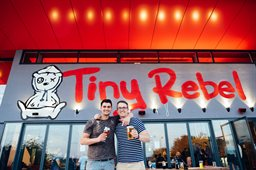 Tiny Rebel Brewery Bar exterior