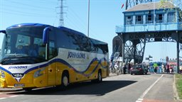 Transporter Bridge coach visit