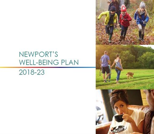 Well-being Plan Front Cover (part)